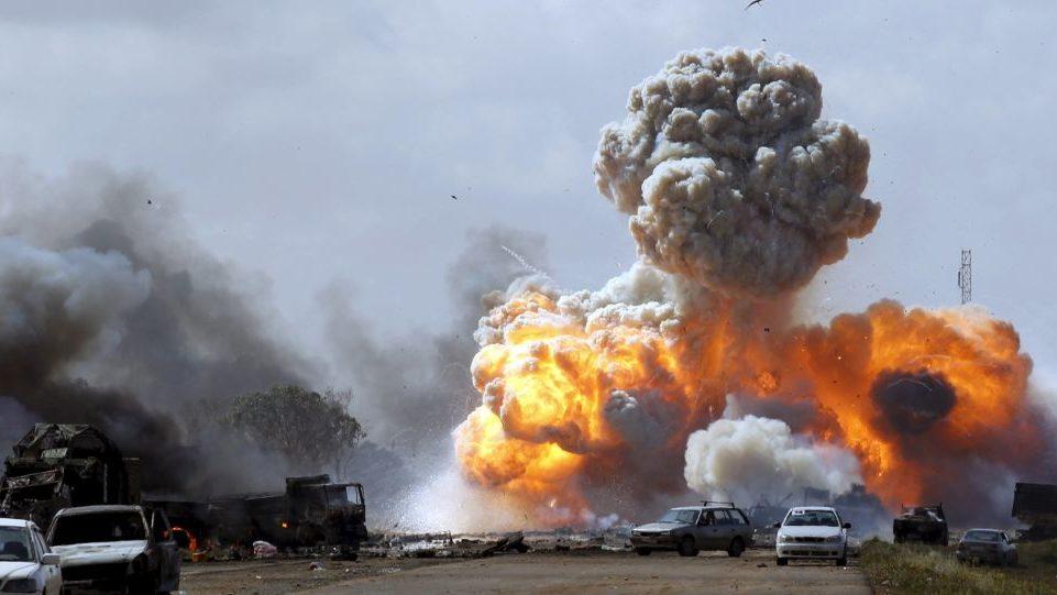 Photo of Aerial bombardment of al-Farnaj area in Tripoli: These crimes have no statute of limitations