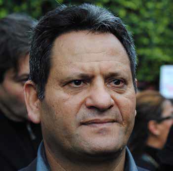 ناجي البغوري نقيب الصحفيين التونسيين