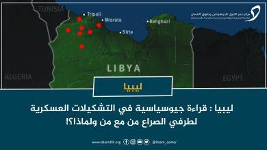 Photo of ليبيا: قراءة جيوسياسية في التشكيلات العسكرية لطرفي الصراع من مع من ولماذا؟!