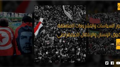 Photo of التقرير السنوي لمركز دعم التحول الديمقراطي وحقوق الإنسان تراجع الحقوق أمام محاولة استعادة «هيبة الدولة»