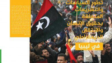 Photo of السياسات والتشريعات المتعلقة بحقوق الإنسان والإنتقال الديمقراطي في ليبيا (تقرير نصف سنوي )