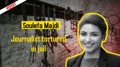 Photo of From press to prison  : Torturing the journalist Solafa Magdy in prison