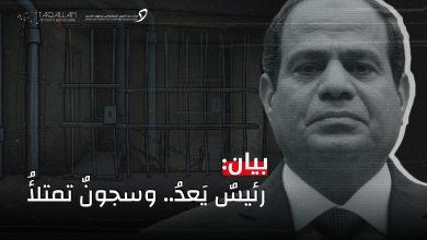 Photo of بيان حول واقع حقوق الإنسان في مصر رئيسٌ يَعدُ.. وسجونٌ تمتلأُ